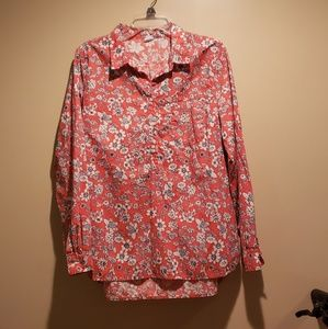 Women's Gap Large Floral Blouse
